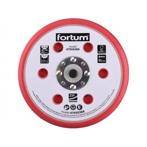 Гумен диск со велкро, со 8 отвори, 150mm