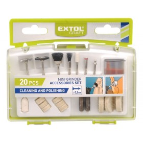 Додатоци линеарна брусилка за полирање и чистење,20пар.EXTOL CRAFT