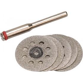 Сет дијаматски мини дискови за линеарна брусилка, 6пар, EXTOL CRAFT