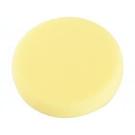 Диск за полирање сунѓер, T80, жолт, ∅150x30mm, Velcro