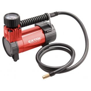 Компресор за автомобил 12V, 6,9bar, приклучок на запалка за цигари, EXTOL PREMIUM