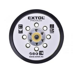 Гумен диск со велкро, со 8 отвори, 150мм, за 8865038