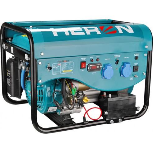 Генератор бензински-плински со електричен старт 2,5kW, HERON EGM 25 LPG-NG-1F