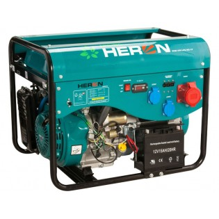 Генератор бензин/плин (LGP / NG) 13HP / 5,5kW (400V) 2x2kW (230V), HERON
