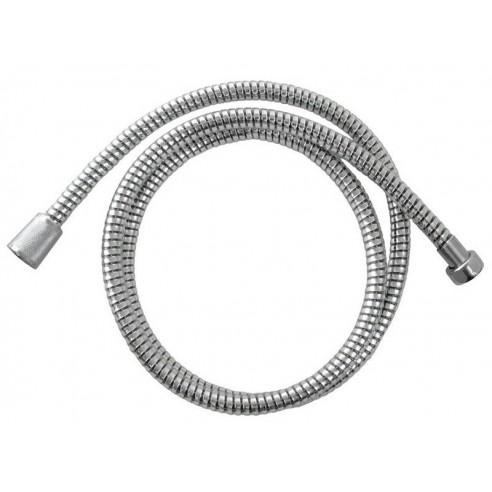 Црево за туш, црна / сребрена PVC, 150cm, ротационо VIKING