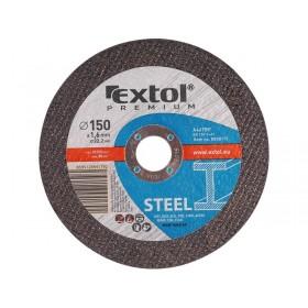 Диск за сечење челик, 125x1,6x22,2mm, EXTOL PREMIUM