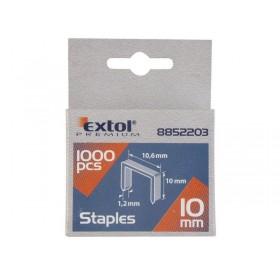 Иглици за хефталка, 12mm, 10,6x0,52x1,2mm, 1000пар, EXTOL PREMIUM