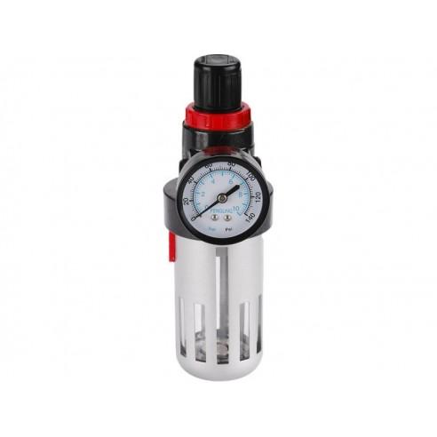 Регулатор на притисок со филтер и манометар, max. работен притисок 8bar (0,8MPa), EXTOL PREMIUM