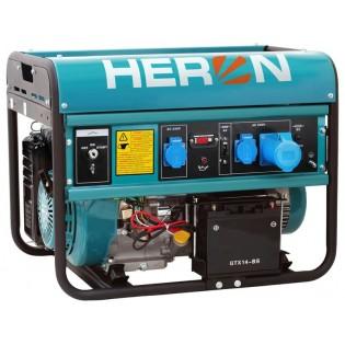 Генератор бензински 15HP, електричен старт, 7,0kW, HERON, EGM 68 AVR-1E